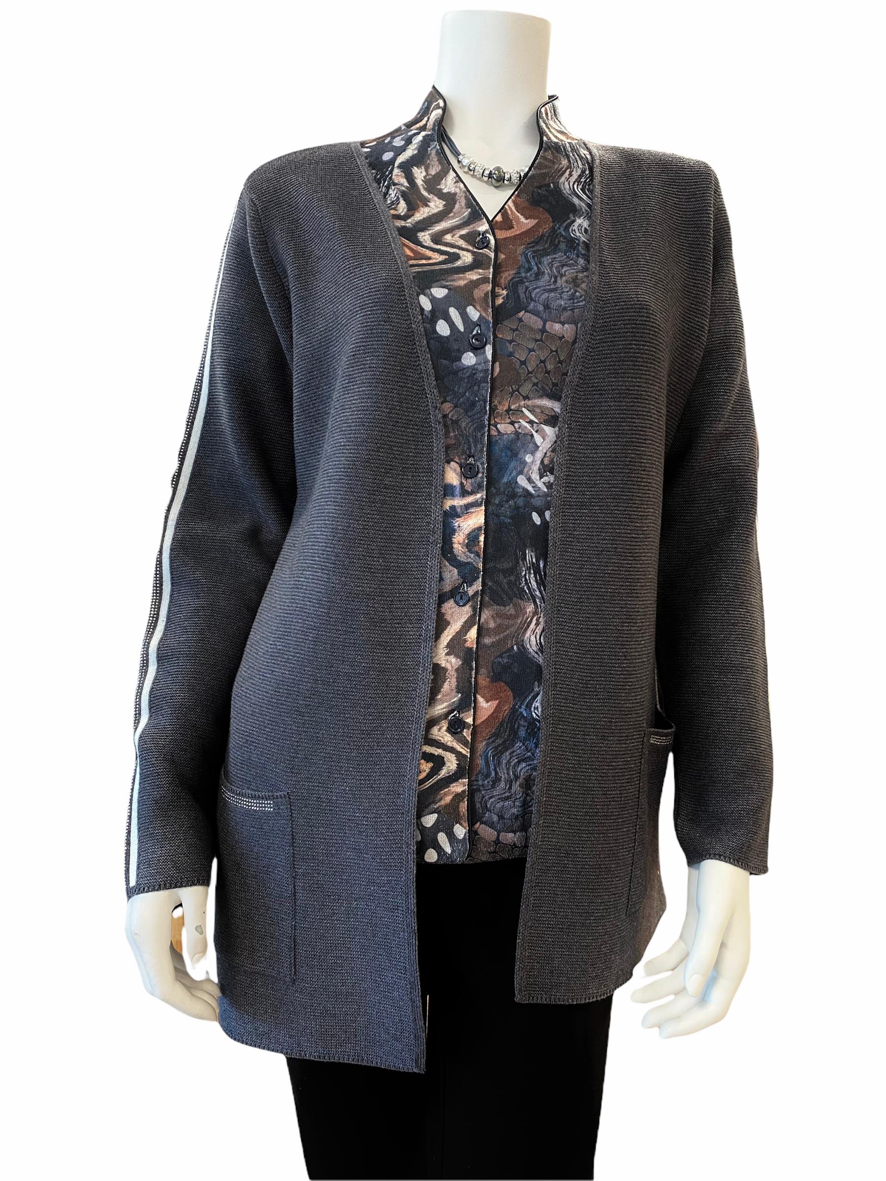 Rabe vest antra met Eli blouse